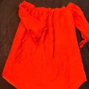 Orange Tunic Dress